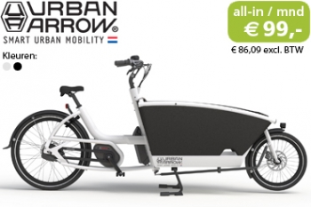 urban arrow family bakfiets private lease 99 permaand