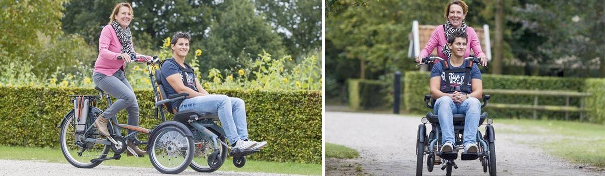 van raam Opair rolstoelfiets lease koop