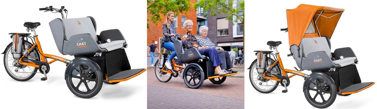 van raam chat riksja fiets abonnement