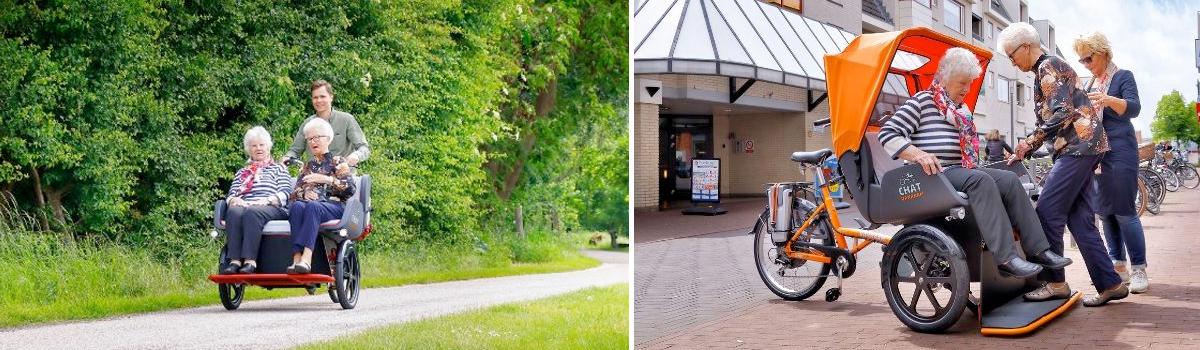 van raam chat riksja fiets gebruik
