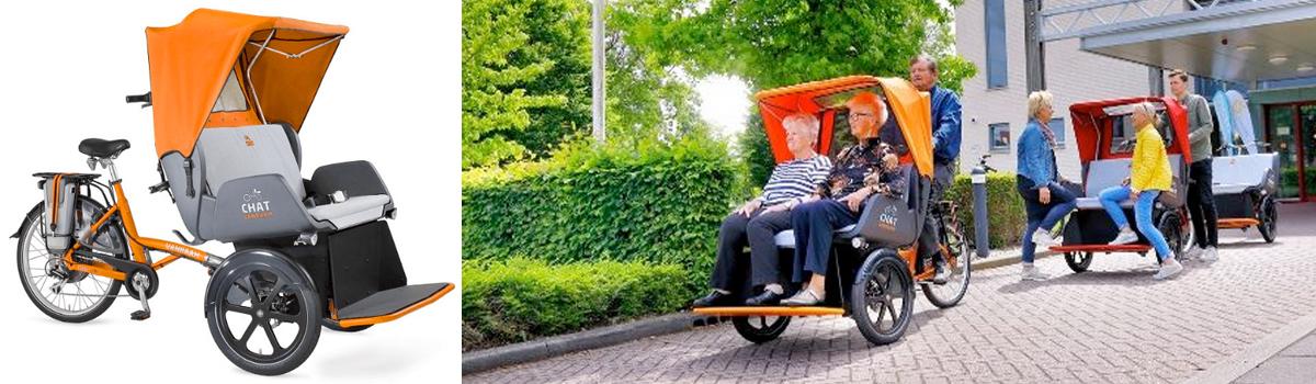 van raam chat riksja fiets private lease