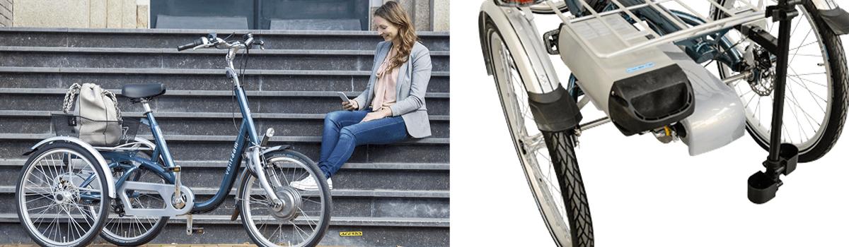 van raam maxi driewielfiets maximale stabiliteit accu