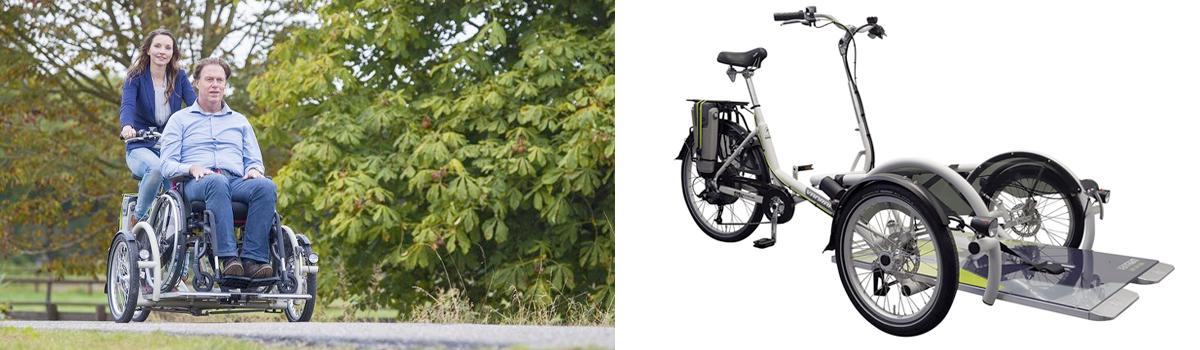 veloPlus rolstoelfiets rolstoeltransport fiets sfeer