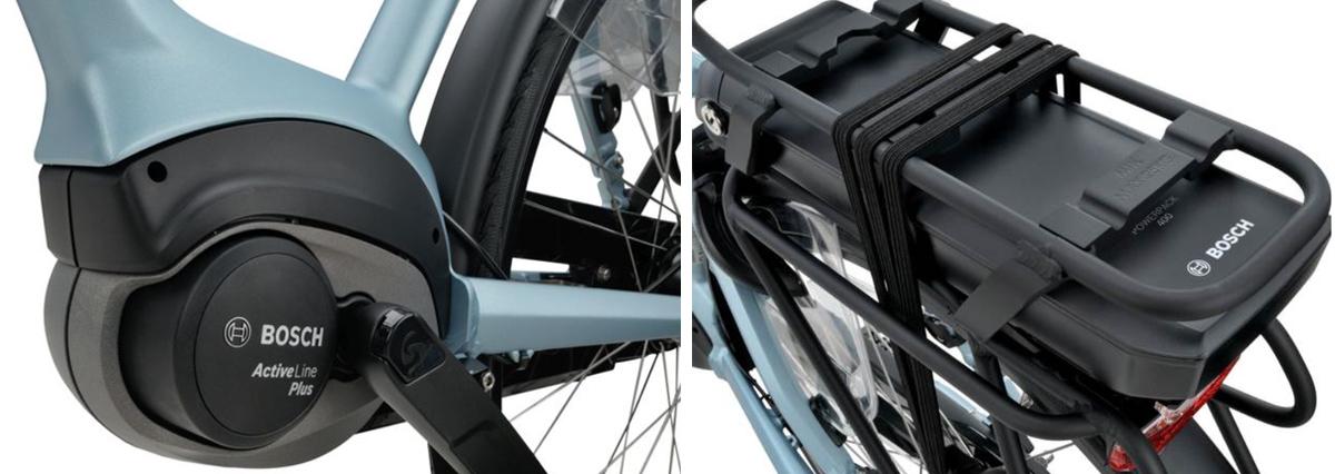 sparta a shine m8b fiets motor accu