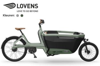 lovens explorer 65 automatic bakfiets lease